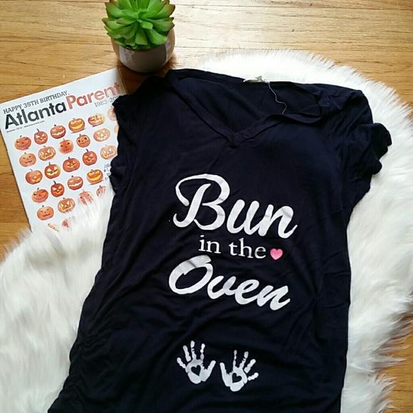 Bun in the Oven Maternity Shirt